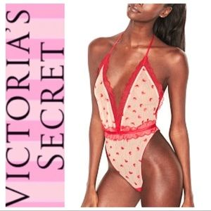 NEW Victoria's Secret Dream Angels Heart TEDDY